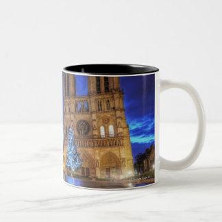 Cathédrale Notre-Dame de Paris Two-Tone Coffee Mug