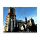 Cathédrale Notre-Dame Paris France. Postcard