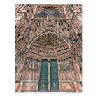 Cathedrale Notre-Dame, Strasbourg, France Postcard