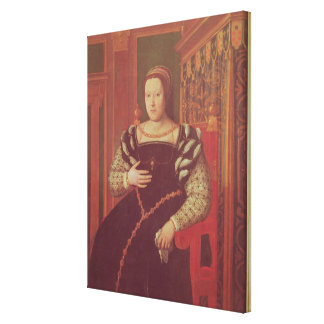 Catherine de Medici, 1585-86 Canvas Print