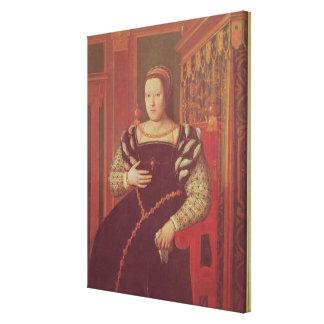 Catherine de Medici, 1585-86 Gallery Wrap Canvas
