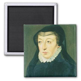 Catherine de Medici Square Magnet