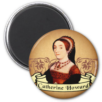Catherine Howard Classic 6 Cm Round Magnet