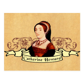 Catherine Howard Classic Post Cards