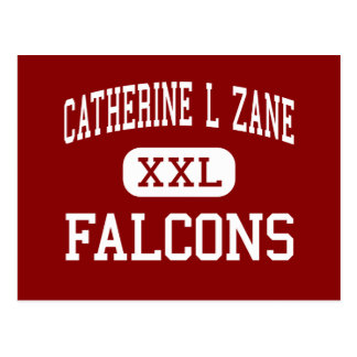 Catherine L Zane - Falcons - Junior - Eureka Postcard