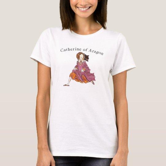 Catherine of Aragon Cartoon T-Shirt