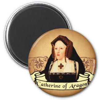 Catherine of Aragon Classic 6 Cm Round Magnet