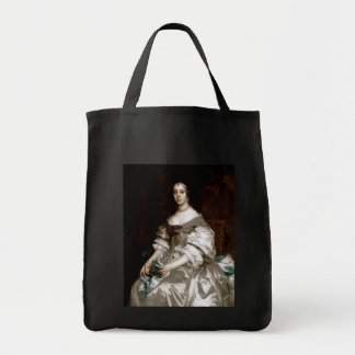 Catherine of Braganza by Sir Peter Lely Grocery Tote Bag