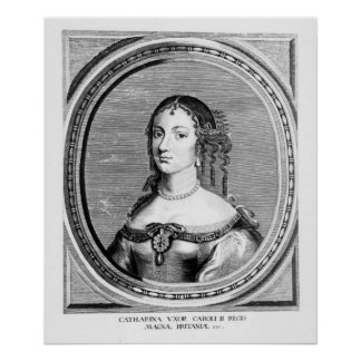 Catherine of Braganza Poster
