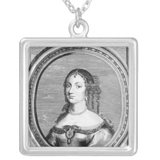 Catherine of Braganza Silver Plated Necklace