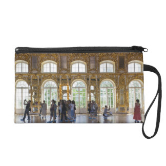 Catherine Palace, detail of the Great Hall 3 Wristlet Clutch