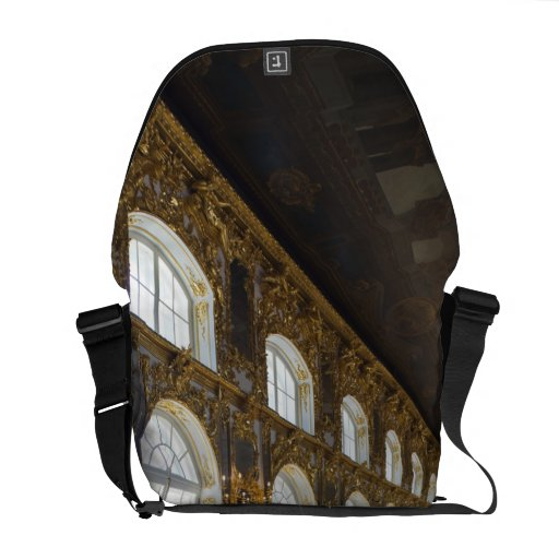 Catherine Palace, detail of the Great Hall Commuter Bags