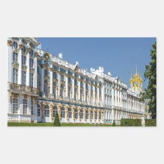 Catherine Palace Tsarskoe Selo Saint Petersburg Rectangular Sticker