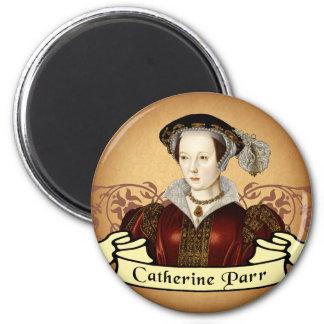 Catherine Parr 6 Cm Round Magnet