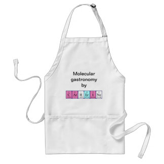 Catherine periodic table name apron
