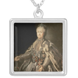 Catherine the Great, 1793 Silver Plated Necklace