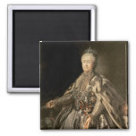 Catherine the Great, 1793 Square Magnet