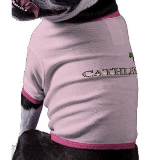 Cathleen Irish Name Pet Tee