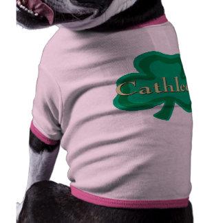 Cathleen Irish Name Doggie Shirt