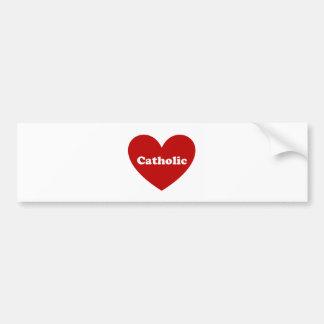 Catholic Bumper Sticker
