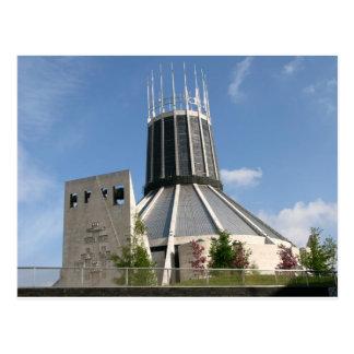 Catholic Cathedral - Liverpool Postcard
