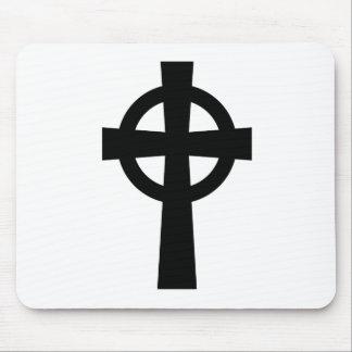 Catholic Celtic Cross Mouse Pad