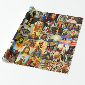 Catholic Church 33 A.D. Wrapping Paper