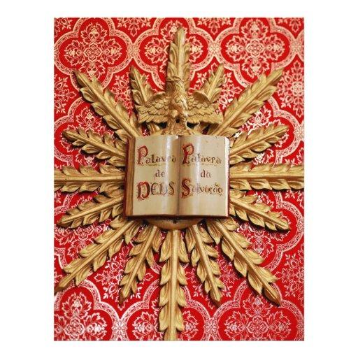 Catholic church decorations custom flyer