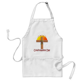 Catholic Confirmation Day for Kids Aprons