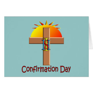 Catholic Confirmation Day for Kids Greeting Card