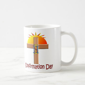 Catholic Confirmation Day for Kids Classic White Coffee Mug