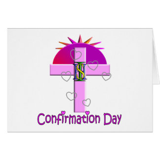 Catholic Confirmation Day Gifts for Kids Greeting Card
