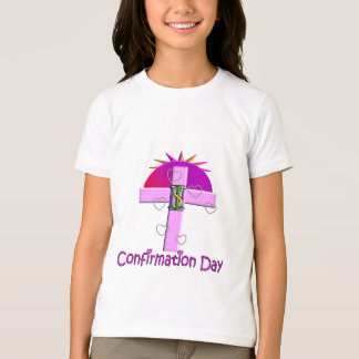 Catholic Confirmation Day Gifts for Kids T-Shirt
