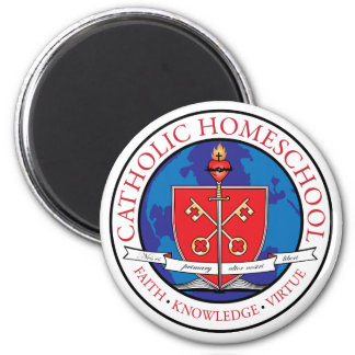 Catholic Homeschool Crest Magnet