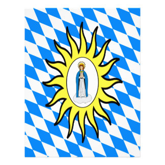 Catholic League Flag 30 Years War Mary Gift Mother Flyers