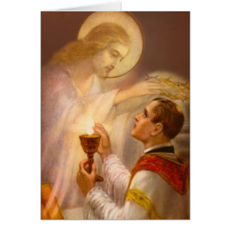 Catholic Mass Offering Memorial Card