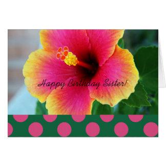 Catholic Nun Birthday Card Floral