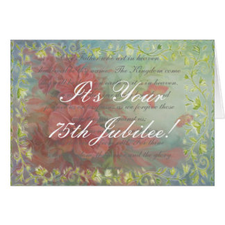 Catholic Nun Diamond 75th Jubilee Cards & Gifts
