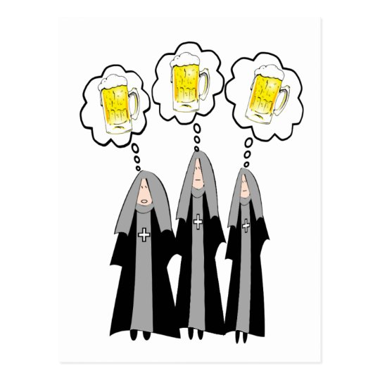 Catholic Nun Gifts~~Hilarious Postcard