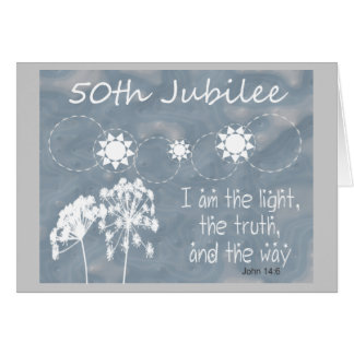 "Catholic Nun ""Golden Jubilee"" Card"