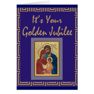 Catholic Nun Golden Jubilee Cards