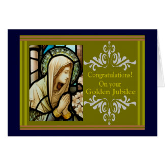 "Catholic Nun ""Golden Jubilee"" Cards & Gifts"