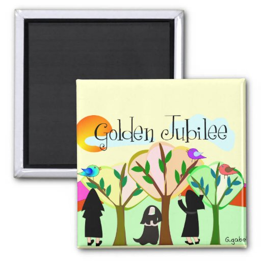 Catholic Nun Golden Jubilee Gifts Refrigerator Magnets