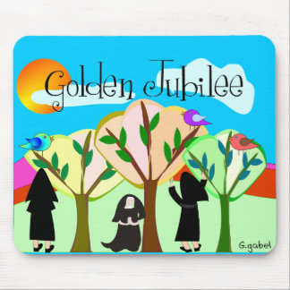 Catholic Nun Golden Jubilee Gifts Mouse Pad