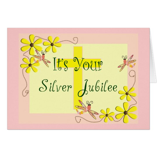 Catholic Nun Silver Jubilee Cards, Mugs, Tote Bags