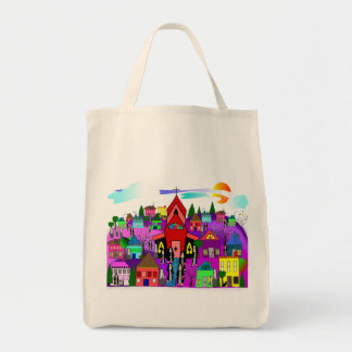 "Catholic Nuns Art ""Heading to Church"" Tote Bag"
