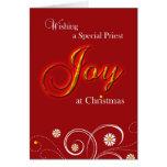 Catholic Priest, Joy at Christmas