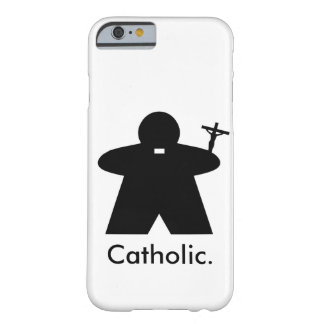 Catholic Priest Meeple iPhone 6 case Barely There iPhone 6 Case