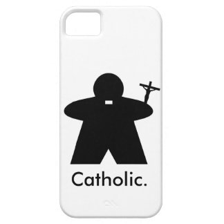 Catholic Priest Meeple iphone case iPhone 5 Cover