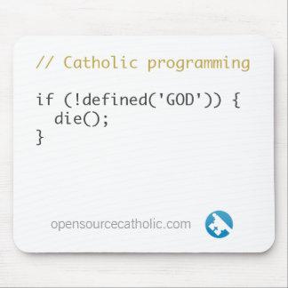Catholic Programmer's Mousepad